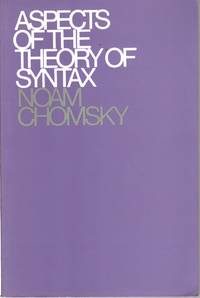 image of Aspects of the Theory of Syntax
