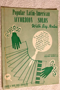 POPULAR LATIN-AMERICAN ACCORDION SOLOS with Big Notes