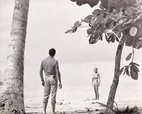 image of Dr. No (Original photograph of Sean Connery and Ursula Andress on the set of the 1962 film)