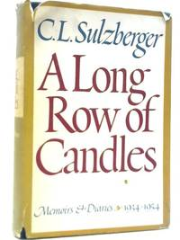 image of A Long Row of Candles; Memoirs and Diaries