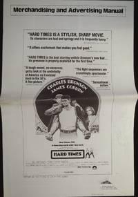 image of Hard Times Pressbook 1975 Charles Bronson, James Coburn