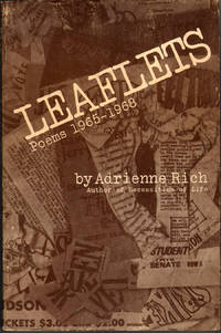 Leaflets: Poems 1965-1968 by  Adrienne Rich - Paperback - First Edition - 1969 - from citynightsbooks (SKU: 1986)
