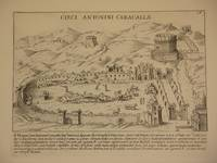 Circi Antonini Caracallae (Circus of Caracalla [Circus of Maxentius], Rome/Circo di Massenzio, Roma): Original Engraving by Domenico De Rossi (after Giacomo Lauro). Plate 16 from Collectio Antiquitatum Urbis : Una Cum Alijs Recentioribus