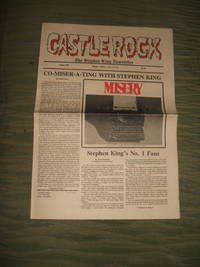 image of Castle Rock Vol. 3 No. 8 Stephen King Newsletter August 1987, MIsery, Gunslinger