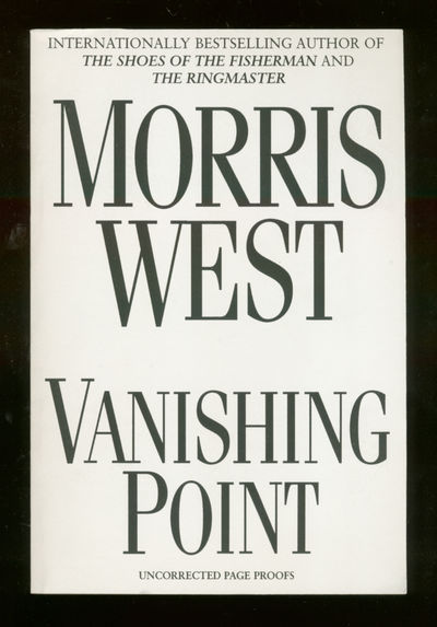 New York: HarperCollins, 1996. Softcover. Fine. First edition, Uncorrected proof. Fine in wrappers.