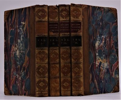 London: Printed for Septimus Prowett, 1825. Four volumes in contemporary half calf over marbled boar...