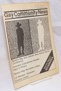 image of GCN: Gay Community News; the weekly for lesbians and gay males; vol. 9, #7, August 29, 1981; Special Report: Nicaragua
