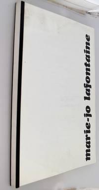 Marie-Jo Lafontaine:a Travers Differentes Techniques, L'artiste Mene Un Combat Insense Avec La Matiere et Les Images, Un Combat Originel Quis Nous Concerne Tous: Prendre Possession De ...