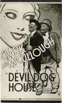In the Devildog House [Devil Dog House] (Photographic proof of a trial poster from the 1934 film short)