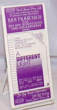 image of David James Press, Ltd._the Golden Gate Business Association_the Tavern Guild of San Francisco present the Gay_Lesbian Map_Guide to San Francisco, Russian River, San Jose Oakland_Hayward 1989 edition