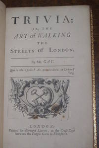 image of Trivia: or, the Art of Walking the Streets of London.