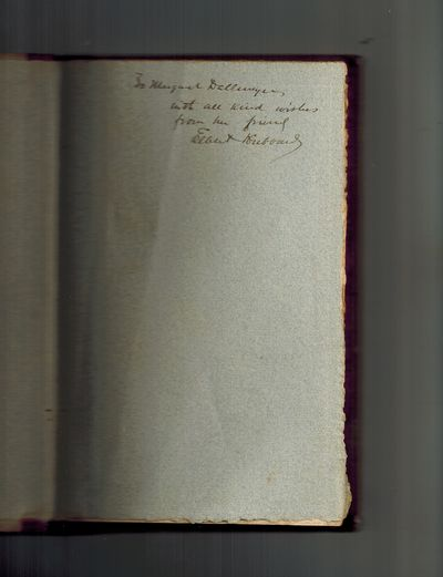 East Aurora, NY: Elbert Hubbard / the Roycrofters, 1898. SIGNED AND INSCRIBED by Elbert Hubbard on t...