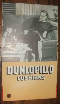image of Dunlopillo Cushions Illustrated Advertising Leaflet