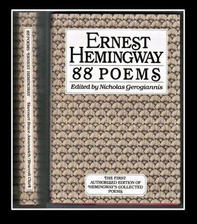 9780151280520 88 Poems By Ernest Hemingway