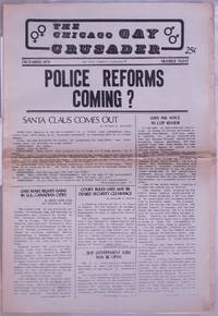 image of Chicago Gay Crusader: the total community newspaper; #8, December 1973: Police Reforms Coming