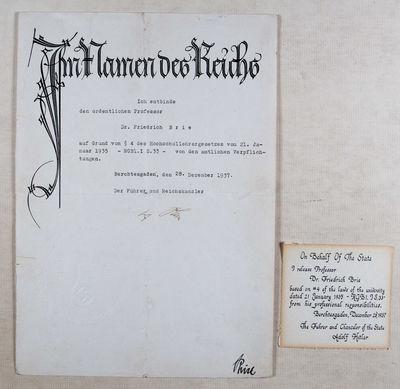 Im Namen des Reichs: Adolf Hitler...