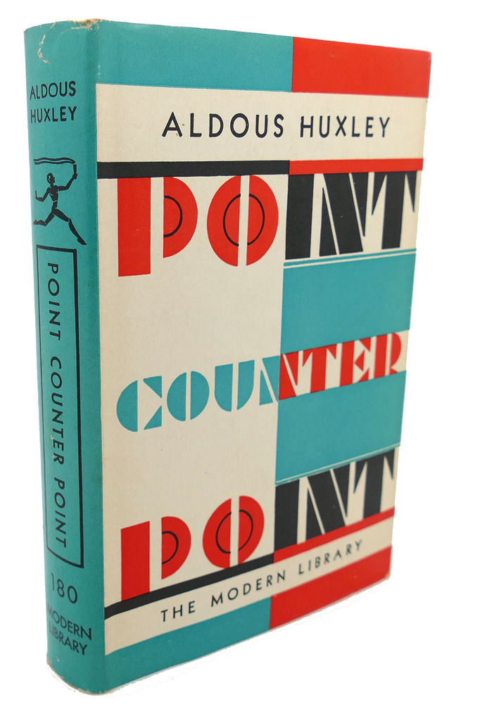 a description of the point counter point written by aldous huxley Aldous huxley biography of aldous in eight years he published a dozen books, among them point counter point (1928) and do what you will , possibly including full books or essays about aldous huxley written by other authors featured on this site sorry.
