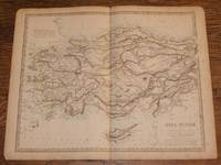 "Map of Asia Minor (now Turkey) - disbound sheet from 1857 ""University Atlas"