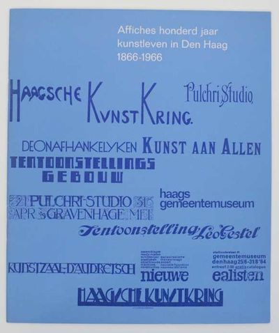 Den Haag: Het Museum, 1966. First edition. Softcover. 20 pages. Exhibition catalog for a show that r...