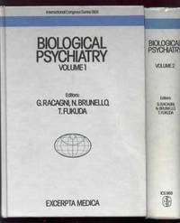 Biological Psychiatry: Proceedings: Proceedings: 001 (International Congress Series, No 968)  Volumes 1 & 2