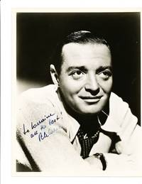 Handsome Signed Photograph, 8 x 10, black and white, ca 1940s by  PETER LORRE - from Schulson Autographs (SKU: 2558)