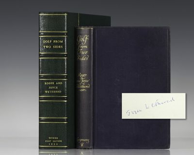 London: Longman's, Green, and Co, 1922. First edition of this work by the Wethereds. Octavo, origina...