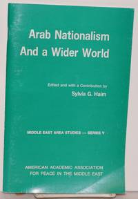 Arab Nationalism and a wider world