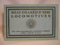 SHAY GEARED AND ROD LOCOMOTIVES: CATALOGUE NUMBER 15