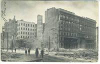 Postcard of The Emporium, San Francisco, Following 1906 Earthquake