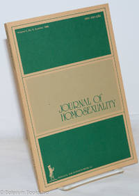 image of Journal of Homosexuality: vol. 5, #4, Summer 1980