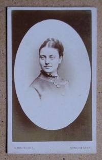 Carte De Visite Photograph: Portrait of a Young Woman.