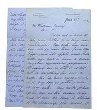 Autograph Letter, signed, to William Doxey, San Francisco Publisher of THE LARK