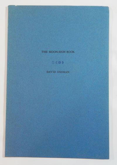 n.p.: The Turkey Press, 1984. Limited edition. Stiff card wraps. Fine. Unpaginated. Thin 8vo. Perint...