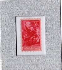 Tchotchke Stamp Art - Collectible Postage Stamp - Benjamin Franklin