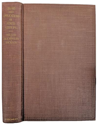 New York:: G. E. Stechert, 1938., 1938. 8vo. xvii, , 390 pp. Index. Maroon blind-stamped yellow/gold...