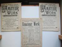 image of Amateur work illustrated: no. 7 (December 1891); no.24 (April 1892) and  no.40 (August 1892)