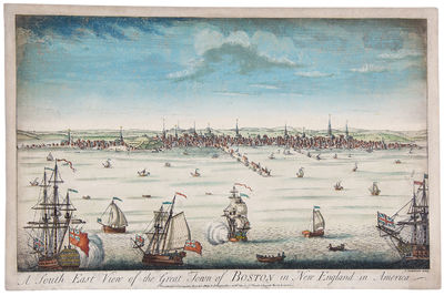 London: Printed for Carington Bowles, 1764. Copper engraving, on laid paper, full period hand colour...