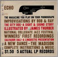 image of Echo: The Magazine You Play on Your Phonograph. 5 Actual LP Records