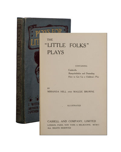 London: Cassell and Company, Limited, 1906. First Thus. First edition in book form of Little Folks P...