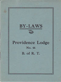 image of Vintage Fraternal Organization Railroad Trainmen By-Laws