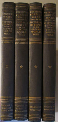 Veterans of Foreign Wars Pictorial History of the Second World War 4 vol set