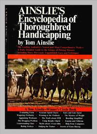 image of Ainslie's Encyclopedia Of Thoroughbred Handicapping