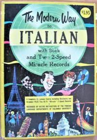 The Modern Way to Italian with Book and Two 2-Speed Miracle Records.