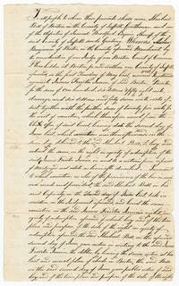 [PROPERTY DEED RESOLVING A DISPUTE BETWEEN ARCHITECT ASHER BENJAMIN AND PAINTER JAMES FERRITER]