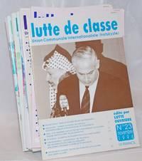 Lutte de classe [fourteen issues]
