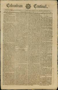 1790 Massachusetts Newspaper Discussing Nantucket Whalers
