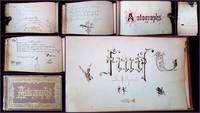 "Autographs, A Friendship Album belonging to Martha ""Mousie"" Durand Tibbetts"