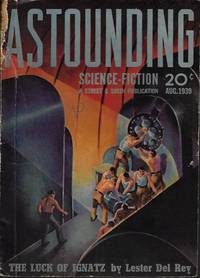 image of ASTOUNDING Science Fiction: August, Aug. 1939