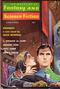The Magazine Of Fantasy And Science Fiction January 1963 - Myths My Great-Granddaughter Taught Me, Speakeasy, Punch, Dragon Hunt, Zap!. The Golden Brick, He's Not My Type!   +