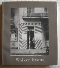 Walker Evans [Apr 25, 2004] Hambourg, Maria Morris; Rosenheim, Jeff L.; Eklund, Douglas and Fineman, Mia